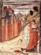 The Departure of St Jerome from Antioch dg GOZZOLI, Benozzo